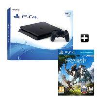 Купить Sony PlayStation 4  PS4 Slim 500GB + Horizon Zero Dawn в Минске
