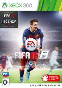 FIFA 16 (Полностью на русском языке!) Xbox360