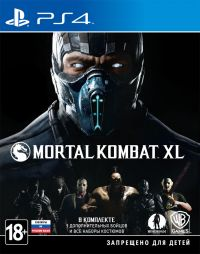 Mortal Kombat XL (PS4) Русская версия.
