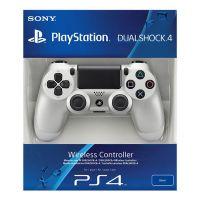 Геймпад DualShock 4 Wireless Controller Silver (PS4)