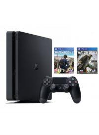 Купить PS4 Sony PlayStation 4 1TB Slim + Watch Dogs 2 + Watch Dogs в Минске