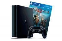 Купить Sony PlayStation 4 PS4 Slim 1TB + God of War 4 в Минске