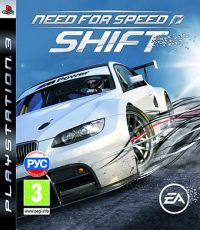 Need for Speed SHIFT (Русская версия) PS3