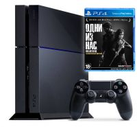 PlayStation 4 PS4 Slim 500GB  + игра The Last Of Us Remastered