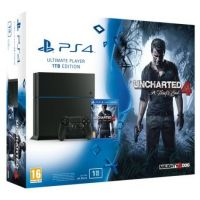 PS4 PlayStation 4 1TB + Uncharted 4