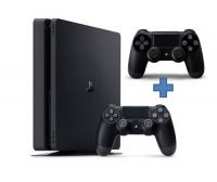 Купить Sony PS4 Slim PlayStation 4 500 Gb ( В комплекте 2 джойстика)
