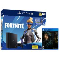 Купить Sony PS4 Pro + Death Stranding + Fortnite (PlayStation 4 по СУПЕР цене!)