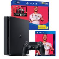 Sony Playstation 4 Slim 500Gb + игра FIFA 20 (PS4)