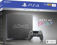 Sony PlayStation 4 Slim 1TB Days of Play Limited Edition (Steel Grey)